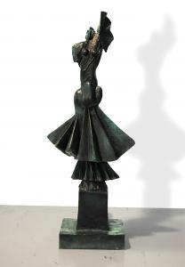 Tänzerin | Jahr 2005 | Bronze 6/6 | Höhe 77 cm