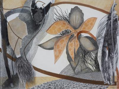 WERK 1256 | Jahr 2011 | Pastell und Kohle auf Papier.<br> Format: 112 x 150 cm