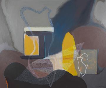 WERK 1282 | Jahr 2013 | Öl auf Leinwand<br>Format: 100 x 120 cm