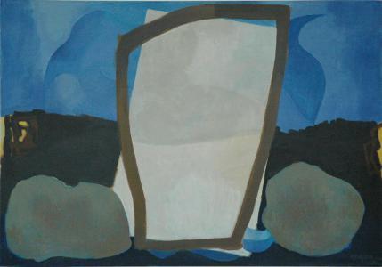 WERK 1231 | Jahr 2010 | Öl auf Leinwand<br>Format: 70 x 100 cm